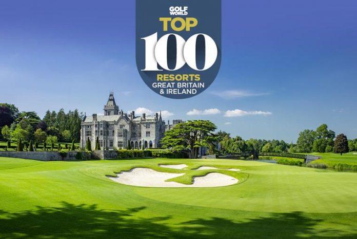 Golf World Top 100: Best Golf Resorts in Great Britain and Ireland