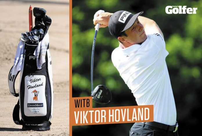 What's in the bag: Viktor Hovland