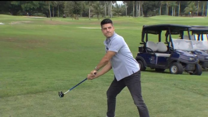 FlingGolf is the new way to play golf on golf courses in South Florida - WSVN 7News |  Miami News, Weather, Sports