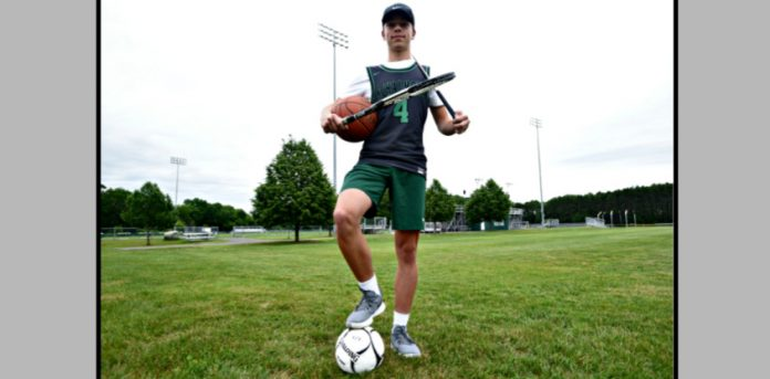 Class 2021: Schalmonts Pepicelli became a four-athlete as a senior