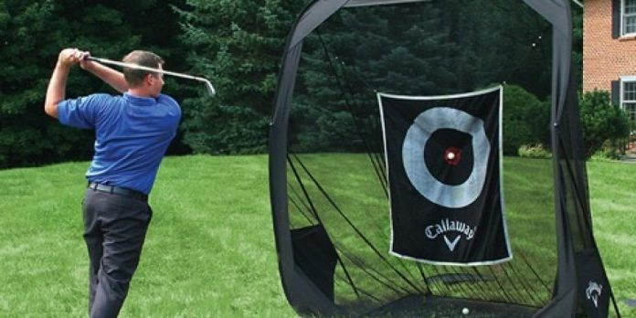Turn your yard into a driving range with this Callaway portable net
