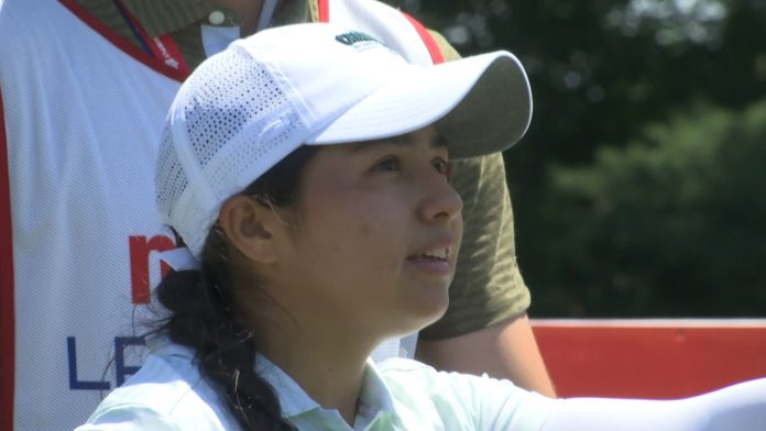 Valery Plata from Michigan had an unforgettable week at the Meijer LPGA Classic
