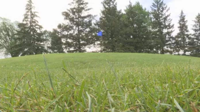 Dry conditions and high temperatures presented the Madison golf course with challenges