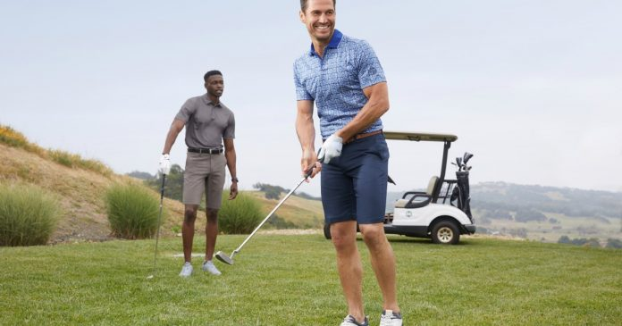 Help Dad with new golf apparel from Men's Wearhouse and Jos.  A. Bench to look good.