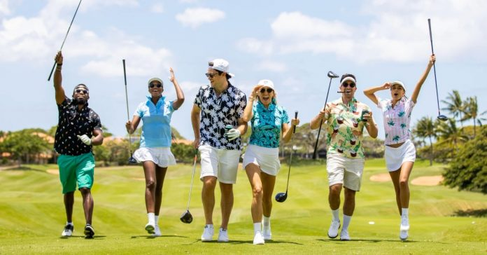 Combine your significant other on the golf course with