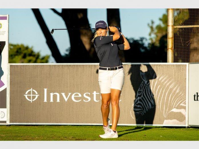 Local golfer as inspiration for women