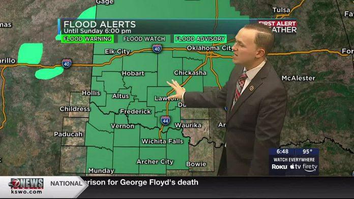 Keep an eye on the radar as the storms get stronger and stronger over the weekend