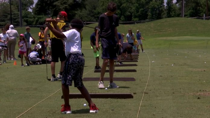 The places fill up in nine minutes for the CSRA golf summer camp