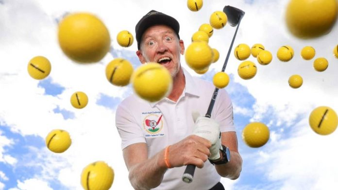 Man wants to break the world record for the most golf holes in a week