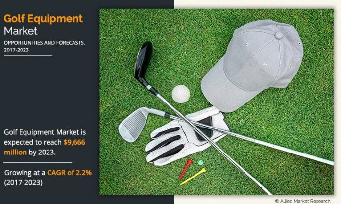 Global Golf Equipment Market Expected To Reach $ 9,666 Million By 2023 - KSU