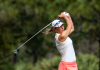 Grier competing in the 2019 KPMG Women's PGA Championship at Hazeltine Golf Club.