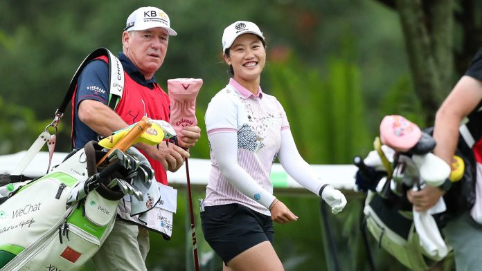 Xiyu Lin prepares for the Chinese Olympic team |  LPGA