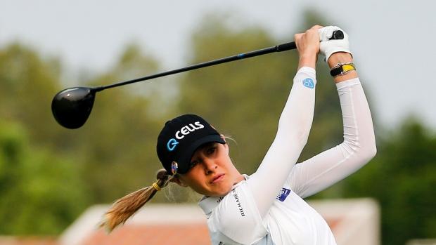 LPGA Nelly Korda leads Michigan