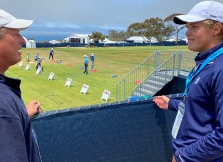 Joe Neuheisel barely missed the chance to play at the US Open