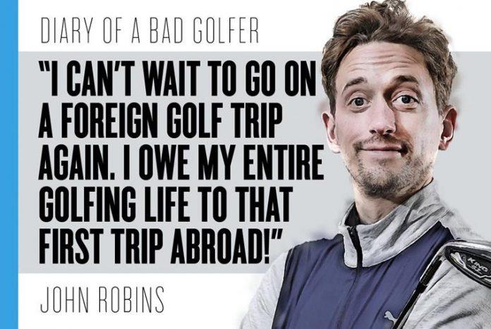 Bad Golf's John Robins: