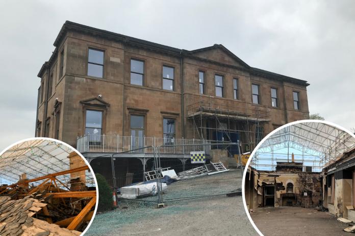 Fire-ravaged Glasgow Golf Club restored