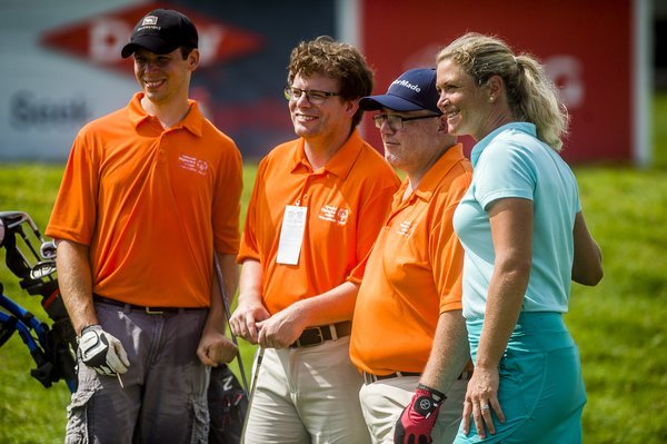 Retired LPGA star Suzann Pettersen speaks as a working mother about wage inequality in golf