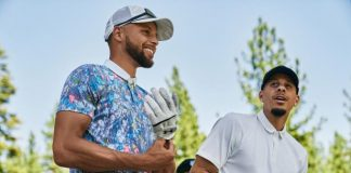 Steph Curry explains the butterfly motif of his newest golf apparel line with Under Armor |  Golf equipment: clubs, balls, bags
