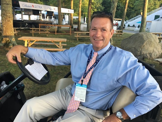 Gary Young of Millbury, vice president of rules, competition and administration for the PGA Tour.