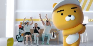 Why play golf outside?  Kakao introduces AI-powered swing experience