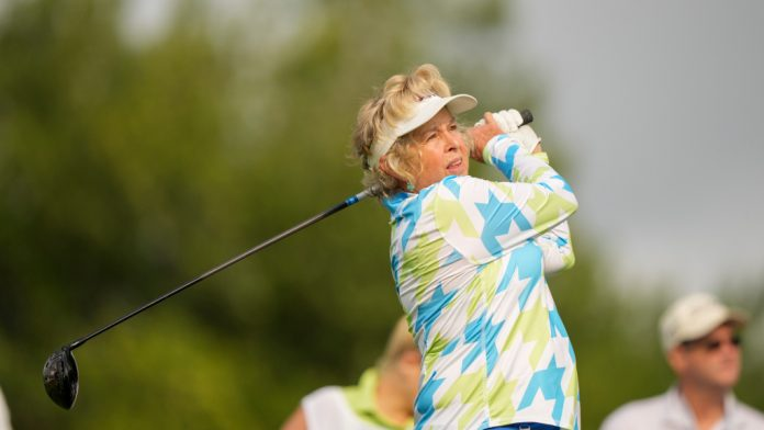 LPGA Hall of Famer Hollis Stacy had total shoulder replacement surgery
