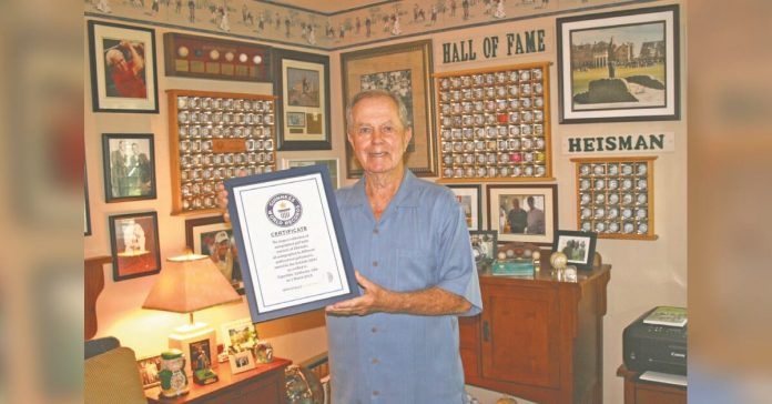 The native Connellsville holds world record