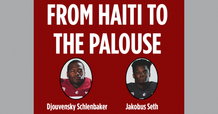 Two former orphans from Haiti announced commitments to Washington State on June 28. Here's how Jakobus Seth and Djouvensky Schlenbaker are connected through fate, fortune and football