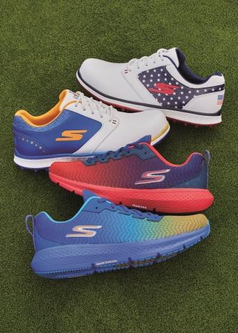 Skechers is the official supplier of team shoes for the Solheim Cup 2021