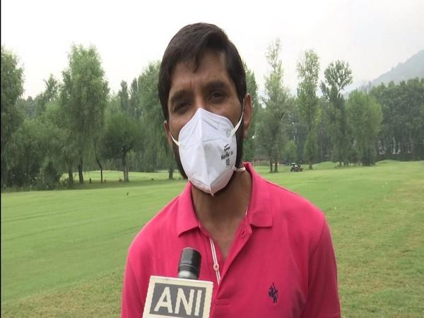Girls from state schools take part in the first golf training camp in Kashmir