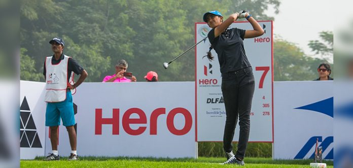 Aditi's father named after Tokyo |  India Golf Weekly