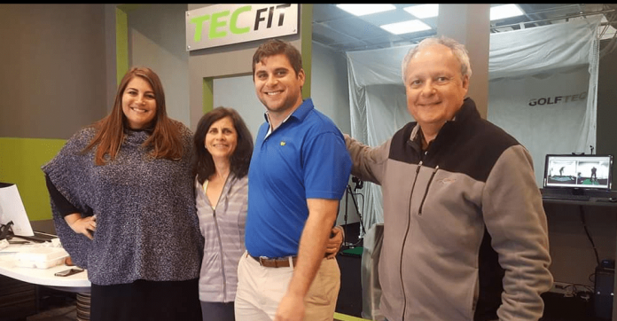For the Souzas, GOLFTEC is a family affair, a West Hartford family affair - We-Ha