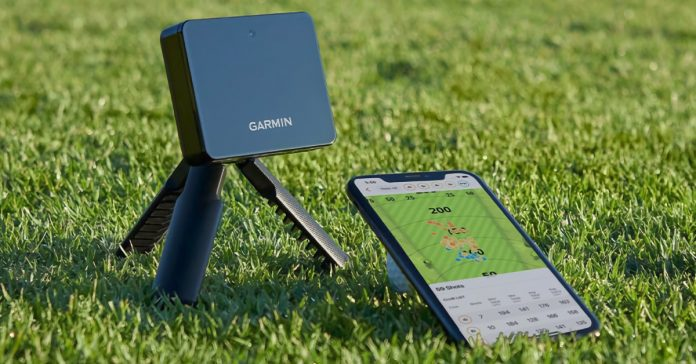 With the brand new Garmin Approach R10, you can play golf virtually at home