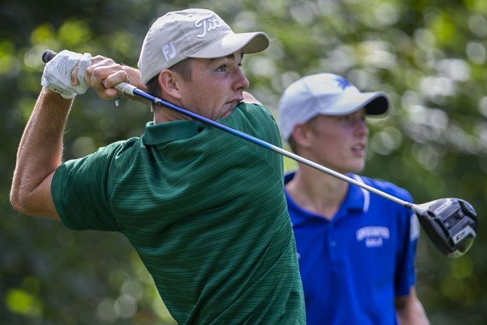 John Peters of Carlisle Country Club holes out 193 yards, Pa wins.  Amateur Championship