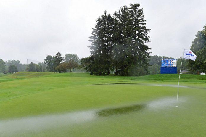 Hataoka was declared the winner as the rain-soaked LPGA was cut to 54 holes.