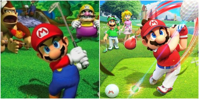 Every Mario golf game (and the best feature of each)
