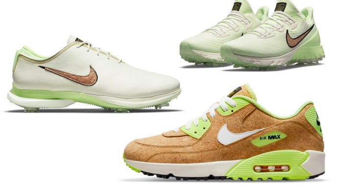 Nike's 2021 British Open golf shoes are inspired by dartboards