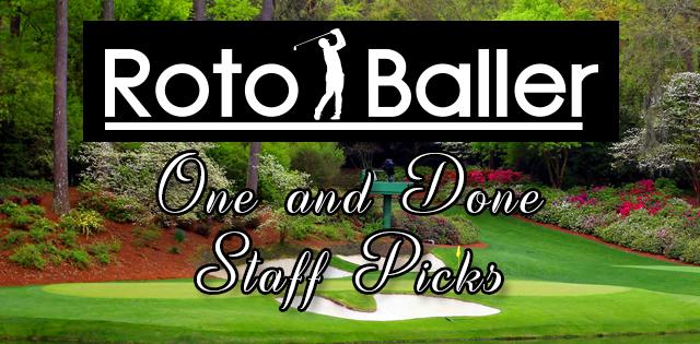 RotoBaller PGA: One And Done Staff Picks - John Deere Classic