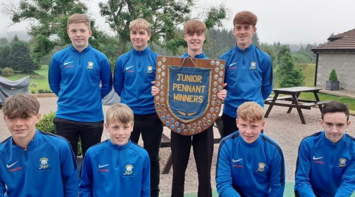 Portlethen Golf Club with double success as juniors claim the Aberdeen pennant crown and Clark Brechin lifts the Northeast Matchplay Prize