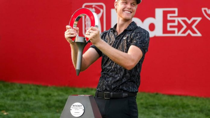 Came Davis takes first PGA Tour win at Rocket Mortgage Classic