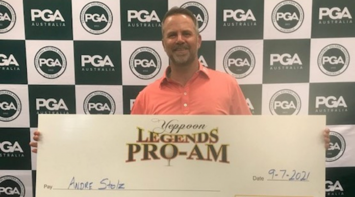 Proudly survived Stumbling and wins Yeppoon Legends Pro-Am |  PGA of Australia