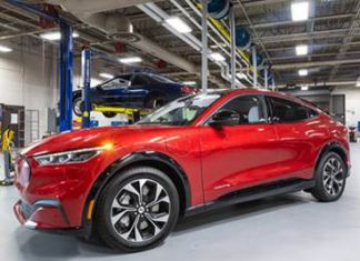 Washtenaw Community College is using a 2021 Ford Mustang Mach-E to prepare the workforce of the future. // Courtesy of WCC