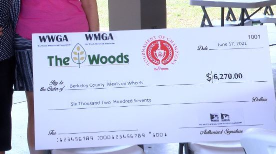 Generous golfers use the links to support Berkeley County Meals on Wheels |  WDVM25 & DCW50