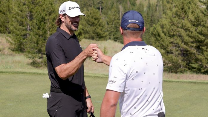 The Match 2021 results: Aaron Rodgers & Bryson DeChambeau ride strong second half to victory over Tom Brady & Phil Mickelson