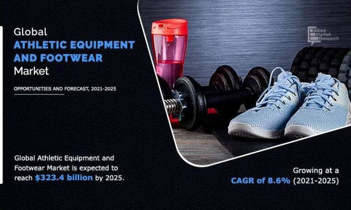 Sports Equipment and Shoes Market Expected to Reach $ 323.4 Billion by 2025 - Allied Market Research - The Manomet Current