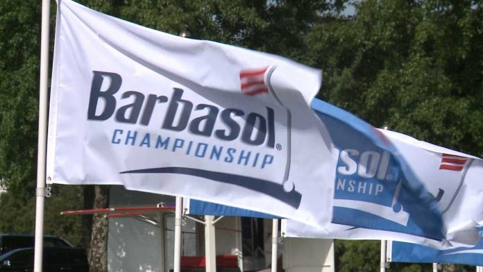 Seamus Power wins first career PGA Tour event in the playoff of the Barbasol Championship