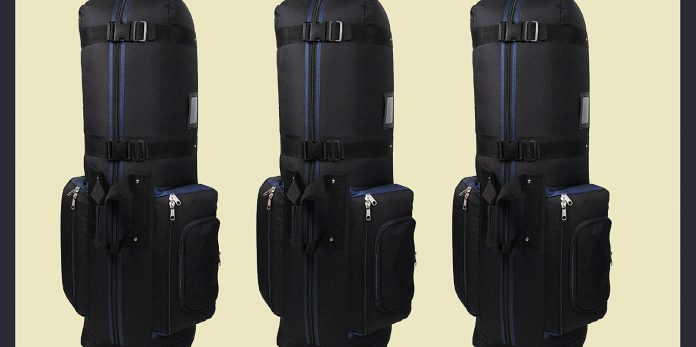 This golf travel bag on Amazon is a must have for avid golfers