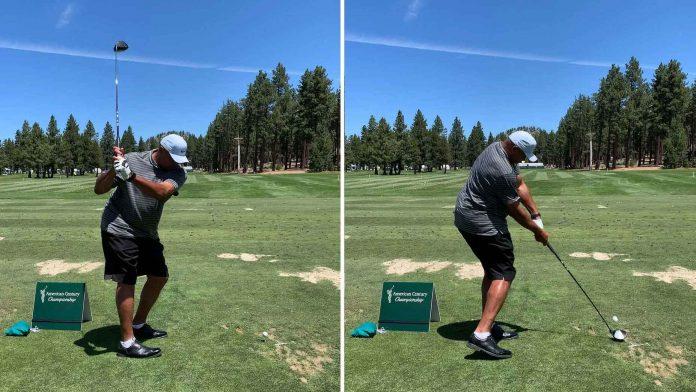Charles Barkley's radically altered golf swing is inspiring