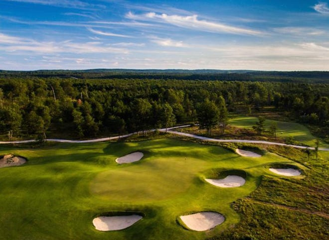 The Forest Dunes' Loop Course is ranked the best public golf course in the state by Golf.com for 2021-22.