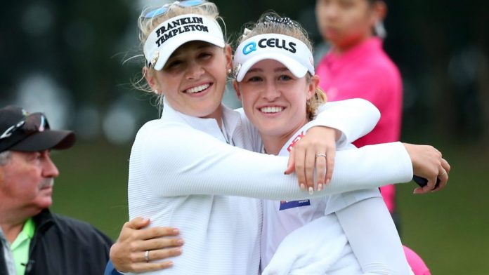 Nelly Korda and Jessica Korda, from junior golf to LPGA fame