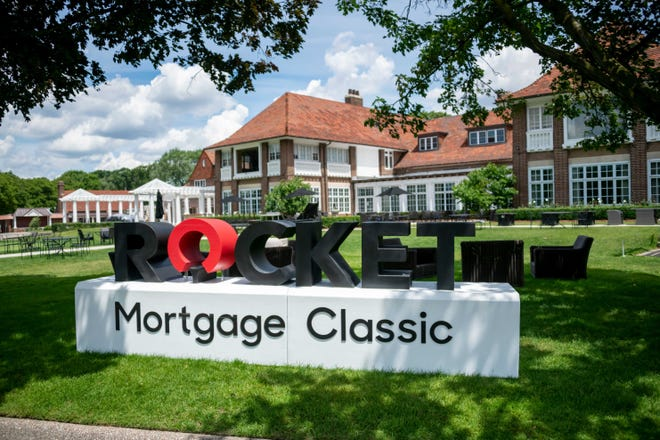 The Detroit Golf Club has seen its membership increase due to the Rocket Mortgage Classic.